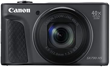 Canon Powershot SX730 HS 20.3 MP Camera Camera – Black