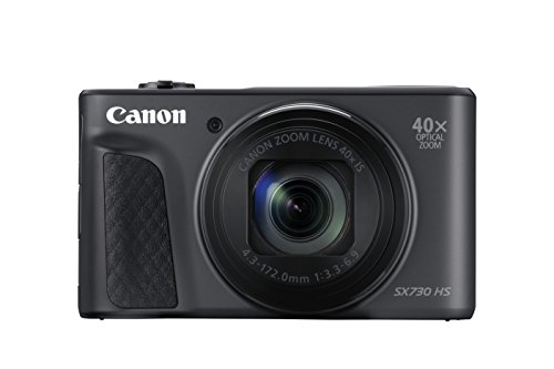 Canon Powershot SX730 HS 20.3 MP Camera Camera – Black