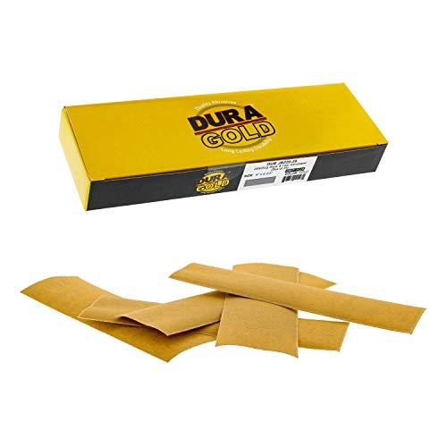25 Lijas Dura-Gold 22.9cm x 6.7cm Grano 220