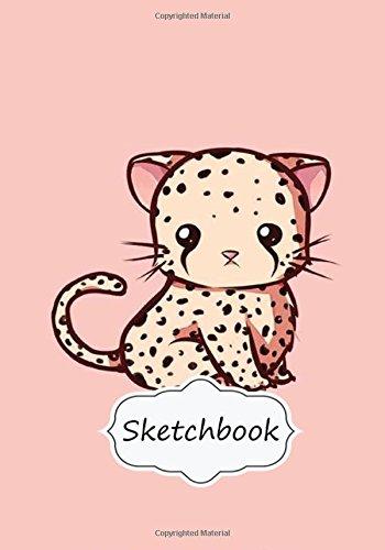 "Read Online Sketchbook : Cutie Cat (VoL.5): 100+ Pages of 7"" x 10"" Blank Paper for Drawing, Doodling or Sketching (Sketchbooks) PDF"