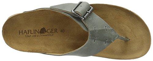 Haflinger Unisex Adults' Rio Mules Grey (Steingrau) SLs0F