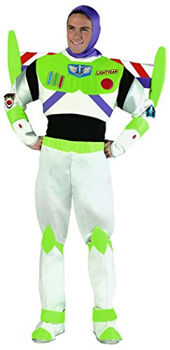 Buzz Lightyear Prestige Costume - X-Large - Chest Size 42-46 (Buzz Lightyear Fancy Dress Adult)