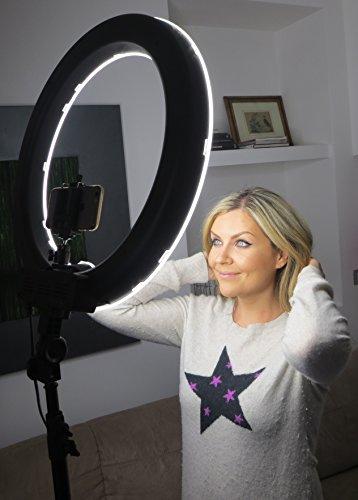 Socialite 18 Quot Led Dimmable Photo Video Ring Light Kit