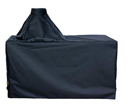 "Cowley Canyon Brand Large Ceramic Egg Type Kamado Table Cover, 60""L-27""W-31""H. Fits Large Big Green Egg, Kamado Joe Classic and others. -  Cowley Canyon Sales, BGELT1A"