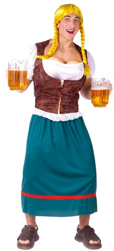 Men's Miss Oktoberbreast Beer Girl Costume]()