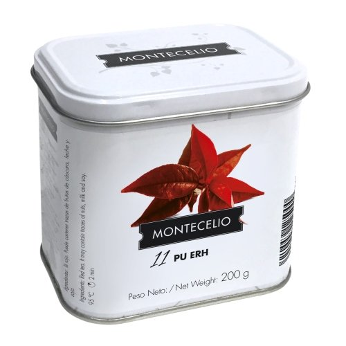 Montecelio - Té en Rama Té Rojo Pu Erh - 200 g: Amazon.es: Alimentación y bebidas