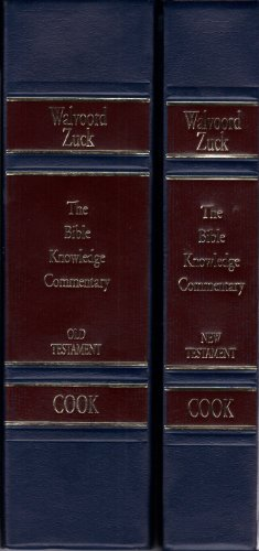 (Bible Knowledge Commentary (2 Volume Set) (Bible Knowledge Series))