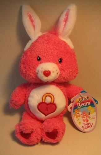 Care Bears Fluffy Secret Bear with Bunny Ears 8 Inches ()