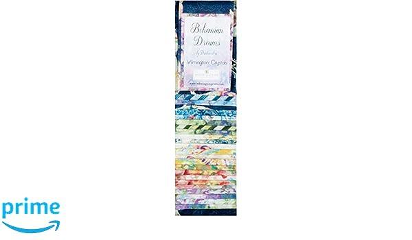 Wilmington Prints Q802-11-802W Essential Gems White Out 24 Piece Strips 2-1//2 x 44