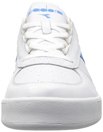 Diadora Männer B. Elite Court Schuh Weiß / Bonnie Blau
