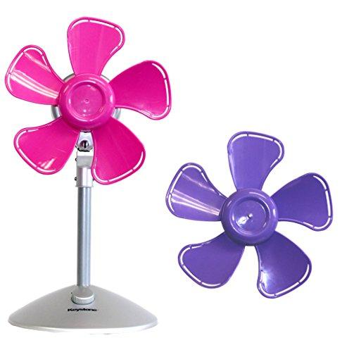 (Keystone KSTFF100APK Flower Fan with Interchangeable Heads, 10-Inch,)