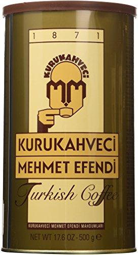Kurukahveci Mehmet Efendi Turkish Coffee 3 Pack (3 X 500gr) (Turkish Coffee Ground)