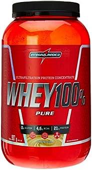 Whey 100% Pure Pote (907g) - Sabor Baunilha, Integralmédica