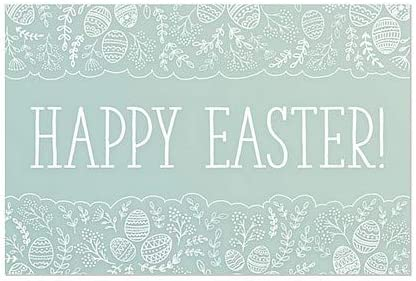 5-Pack 27x18 CGSignLab Easter Scallops Window Cling