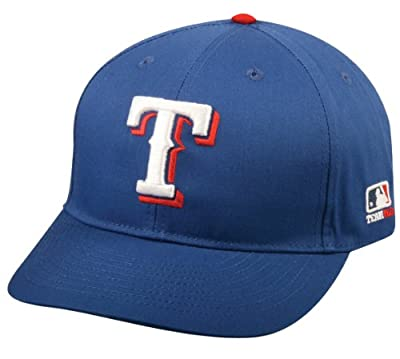 Texas Rangers (Home - Blue) YOUTH (Ages Under 12) Adjustable Hat MLB Officially Licensed Major League Baseball Replica Ball Cap