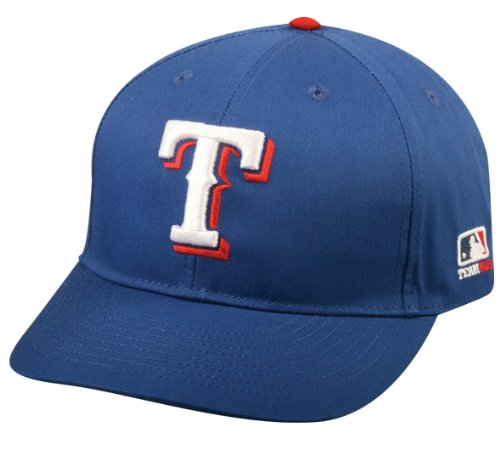 Adult FLAT BRIM Texas Rangers Home Blue Hat Cap MLB Adjustable