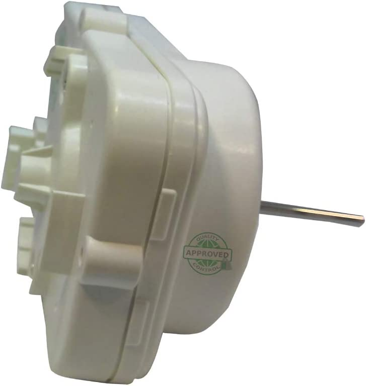 GlobPro WPW10239053-W10239053-12825101 Refrigerator Condenser Fan Motor 4 pines in the back Fits Panasonic Replacement for and compatible with Maytag Whirlpool Kenmore KitchenAid Heavy DUTY