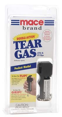 Tear Gas Double-action Michigan Approved (Mace Model Jogger)