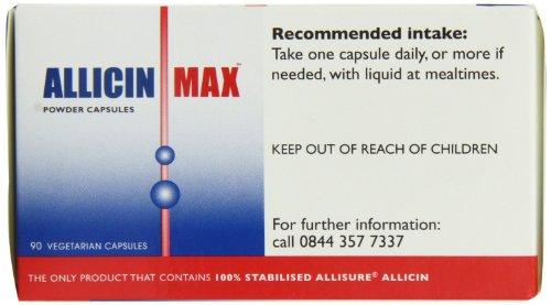 ALLICINMAX Allicin Max 100% Pure Allicin 90vcaps (2 Pack) by Allicin (Image #3)