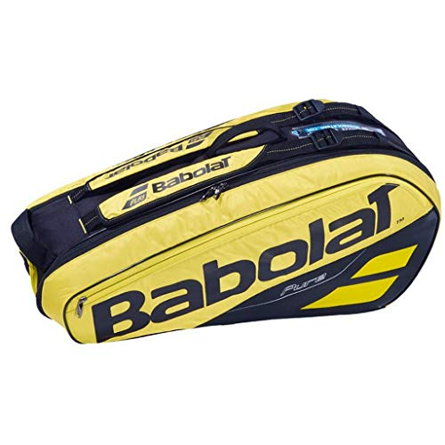 Babolat 2019 Pure Quality 6 Racquet Tennis Bag (Yellow)