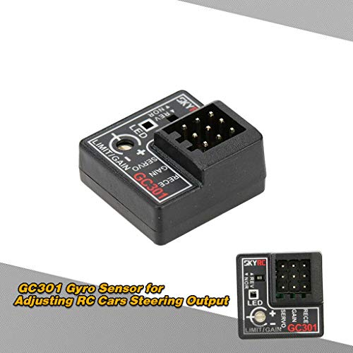 - SAQIMA SkyRC GC301 Gyro Sensor for Adjusting RC Cars Steering Stability Control System Professional Accessory