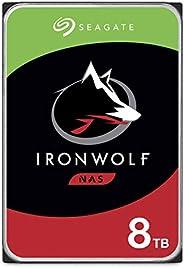 Seagate IronWolf 8TB NAS Internal Hard Drive HDD – 3.5 Inch SATA 6Gb/s 7200 RPM 256MB Cache for RAID Network A
