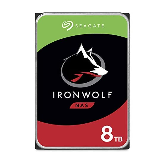 Seagate IronWolf 8TB NAS Internal Hard Drive HDD – CMR 3.5 Inch SATA 6Gb/s 7200 RPM 256MB Cache for RAID Network… 414zmuFeWhL. SS555