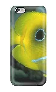 Hot Design Premium SGIPxRI8150YLmBv Tpu Case Cover Iphone 6 Plus Protection Case(animal Wild Fish)