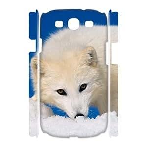 Hotsale Case for Samsung Galaxy S3 I9300 3D - The Arctic Fox ( WKK-R-530372 )