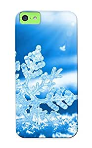 Ideal Resignmjwj Case Cover For Iphone 5c(snowflake), Protective Stylish Case