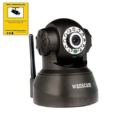 Cámara IP wifi inalámbrica Vigilancia grabación en TF motorizada WANSCAM JW0012