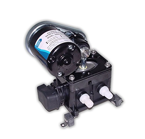 Jabsco 36950-2000 Marine PAR High Pressure Belt Drive Water Pressure Pump (3-GPM, 40-PSI, 12-Volt, 8-Amp, Up to 4 Outlets), Black - Jabsco Drive Belt