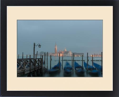 Framed Print of Church of San Giorgio Maggiore in early Morning Light. Venice. Italy by Fine Art Storehouse