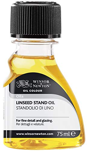 Stand Linseed Oil - Winsor & Newton 75ml Linseed Stand Oil