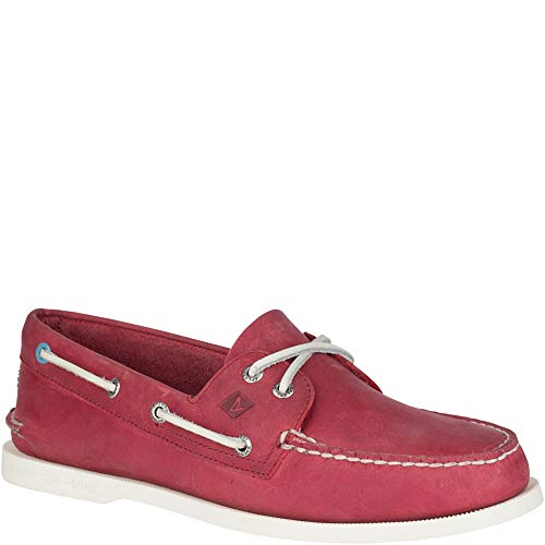 - Sperry Top-Sider Authentic Original Richtown Boat Shoe Men 13 Red