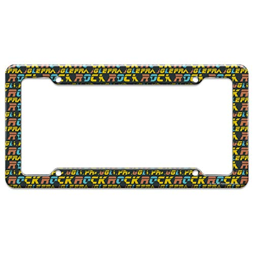 Graphics and More Fraggle Rock GOBO Silhouette Pattern License Plate Tag Frame ()