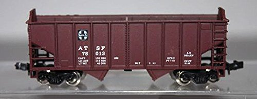 Con-Cor N Scale 70 Ton 2 Bay Hopper Santa Fe for sale  Delivered anywhere in USA