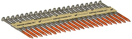 - Simpson Strong Tie N16HDGPT500 30-33-Degree Collated Structural-Connector Joist Hanger Teko, Nail 2-1/2-Inch 500 Per Box