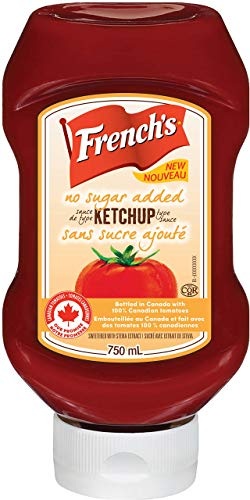 French's, Tomato Ketchup, No Sugar Added, 750ml/25.4oz. (Imported from Canada) ()