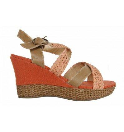Sandalias de Mujer URBAN 733510-B7200 LCORAL-SAND