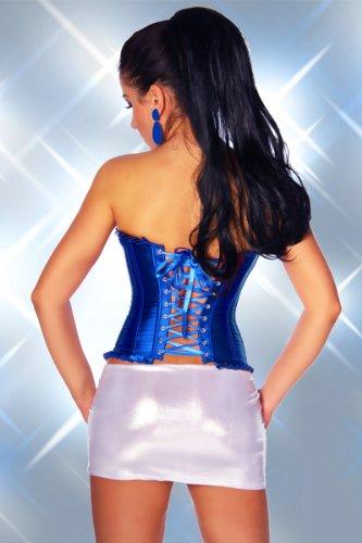 Add Health Corsé Rockabilly, Burlesque Nr3 Azul