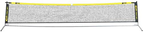Gamma Sports First Set Jr. Net, Carry Bag Included - Outdoor or Indoor Play – Conforms To The USTA QuickStart Tennis Format Standard On A 36' Court - 18 Feet Long, 33 Inches High