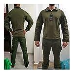 HXSZWJJ Uniformes Tactiques Hommes Ripstop Tenue de Camouflage Militaire Ensembles Costumes de sécurité de Combat… 8