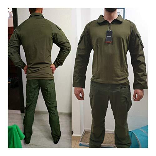 HXSZWJJ Uniformes Tactiques Hommes Ripstop Tenue de Camouflage Militaire Ensembles Costumes de sécurité de Combat… 2