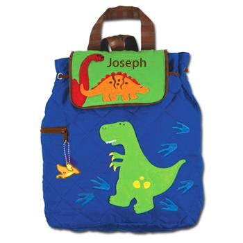 Amazon.com: Monograma mochila acolchada por stephen joseph ...