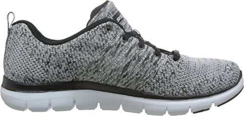 High 0 2 Energy Flex Damen Sneaker Wbk Skechers Appeal Weiß xwXfv