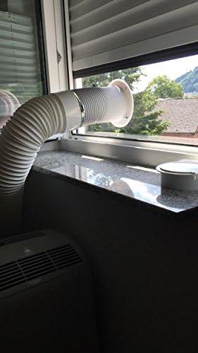 Werkzeuge Abgasschlauch Tragbar Klimaanlage Teile Weiß Anschluss Adapter