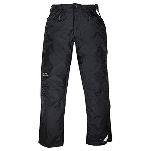 Red Ledge Men's Free Rein Full-Zip Pant Full Side Zip Rain Pant,Obsidian,X-Large