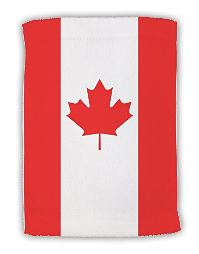 - TooLoud Canadian Flag All Over Micro Terry Sport Towel 11