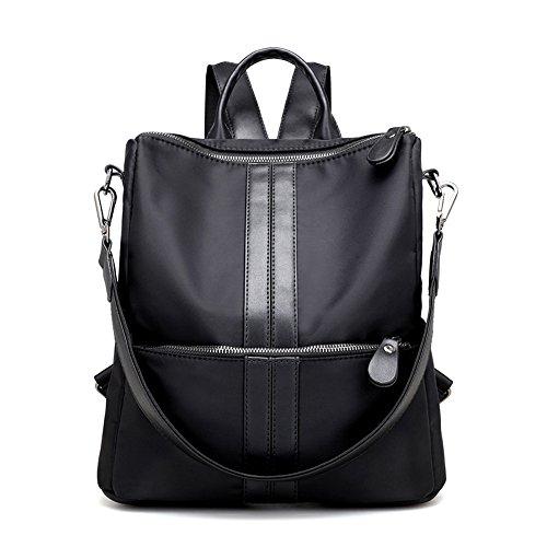 (Artwell Women Backpack Purse Water Resistant Nylon Rucksack School Shoulder Bag Casual Handbag for Lady Girl)